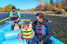 Taylor Family floating Flathead River Glacier Guides Montana Rafting Glacier National Park 5
