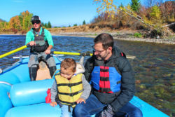 Taylor Family floating Flathead River Glacier Guides Montana Rafting Glacier National Park 5