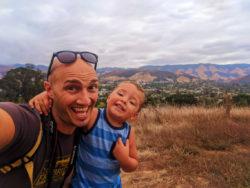 Taylor Family hiking Cerro San Luis Obispo 2