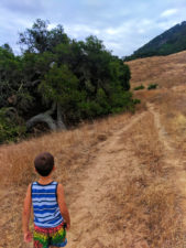 Taylor Family hiking to lemon grove at Cerro San Luis Obispo 6