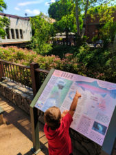Taylor Family in Downtown San Luis Obispo Urban creek trail 1