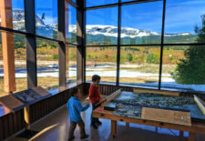 Taylor family at St Mary Visitors Center Glacier National Park 1