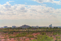 A Mountain Tempe from Two Buttes at Papago Park Phoenix Tempe 2