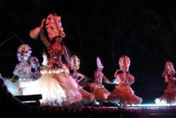 Dancers at Ka Waa Luau Disney Aulani Oahu 1