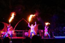 Dancers at Ka Waa Luau Disney Aulani Oahu 3