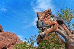 Dinosaurs in the Desert at Phoenix Zoo 4