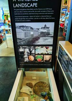Exhibits at Visitors Center Sutro Baths GGNRA San Francisco 2