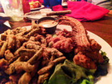 Fried Rattlesnake at Rusters Rooste Tempe 1