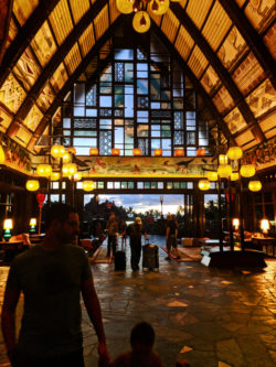 Hotel Lobby building of Disney Aulani Oahu 2