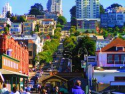 Hyde St Cable Car Line San Francisco 1