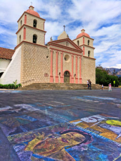 Public art at Mission Santa Barbara 3