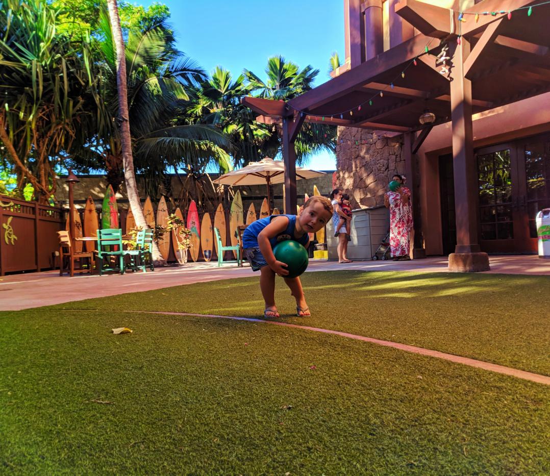 Beach House In Oahu: Taylor Family At Aunties Beach House Disney Aulani Oahu 1