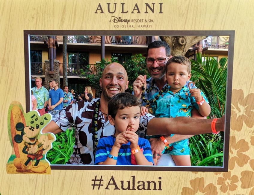 Taylor Family at Ka Waa Luau Disney Aulani Oahu 3