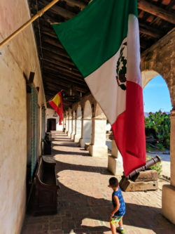 Taylor Family at Mission San Miguel Archangel 1