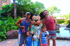 Taylor Family with Mickey Character Dining at Disney Aulani 4