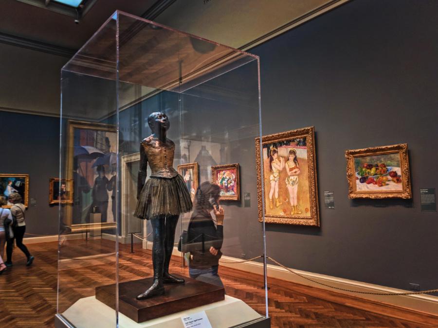 Desgas Ballerina at Art Institute of Chicago 2