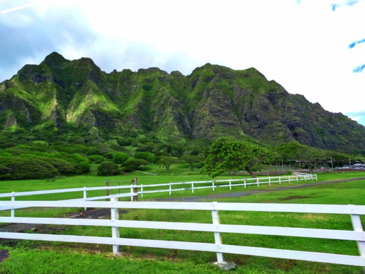 Green Mountains Eastern Shore Oahu 1