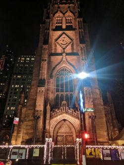 Trinity Church Wall St NYC
