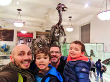 Taylor Family at American Museum of Natural History NYC