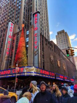 Radio City Music Hall at Christmas NYC