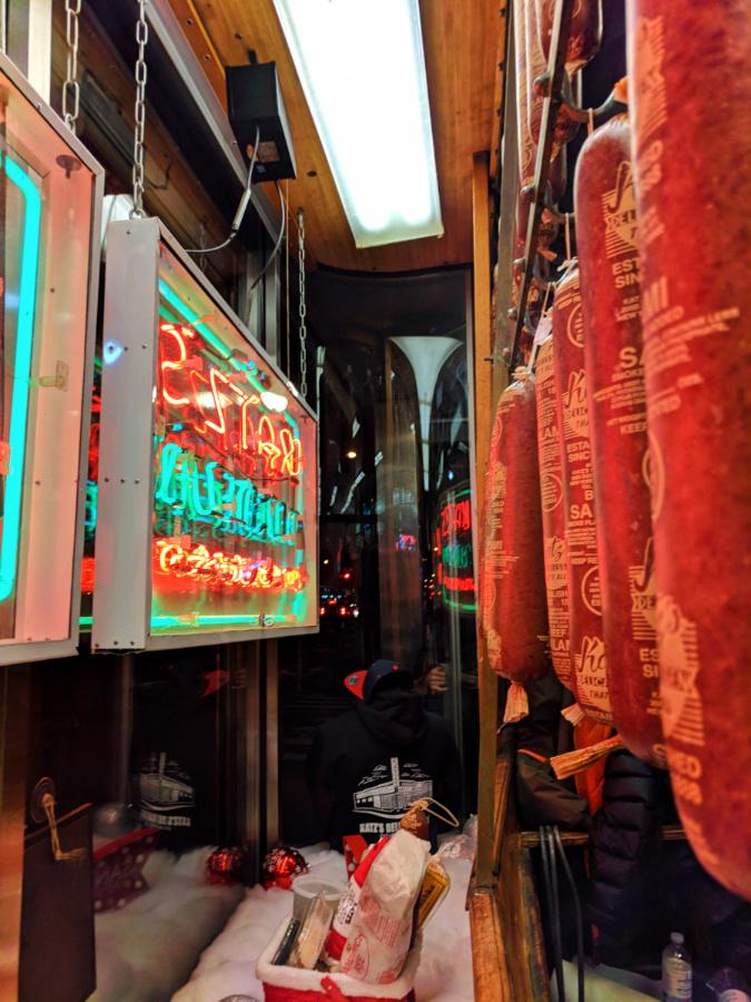 Katzs Delicatessen Manhattan