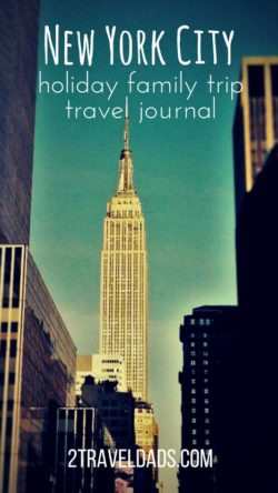 NYC Holiday Family travel journal: Broadway to the Statue of