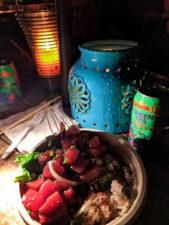 Poke Bowl from Aji Limon Food Truck North Shore Oahu 1