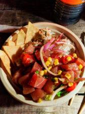 Poke Bowl from Aji Limon Food Truck North Shore Oahu 2