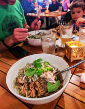 Saimin noodles from Monkeypod Restaurant KoOlina Oahu 1
