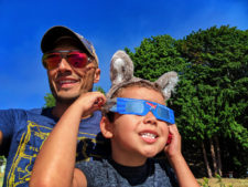Taylor Family in Suquamish for Solar Eclipse 2017 3