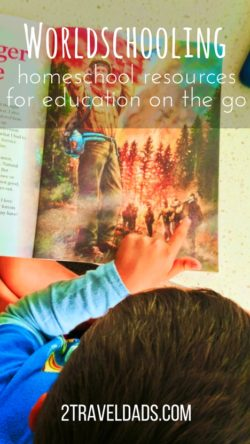 Before beginning worldschooling you must understand the homeschooling resources you'll be using. Education on the go needs to have tools to support it. 2traveldads.com