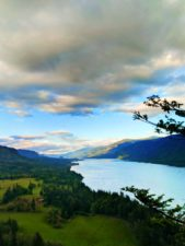 Columbia River Gorge from Cape Horn lookout 1