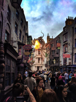 Dragon Fire Diagon Alley Universal Studios Florida Orlando 2