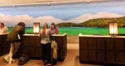 Front Desk at Universal Orlando Resort Sapphire Falls Hotel 2