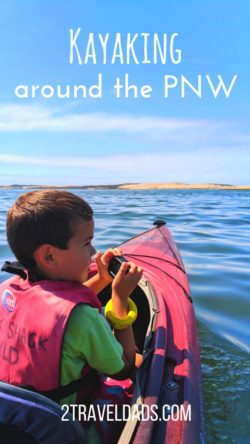 Kayaking in the Pacific Northwest is a must when you visit Washington State. From The Columbia River Gorge to the Olympic Peninsula, kayaking is the perfect way to experience the PNW. 2traveldads.com