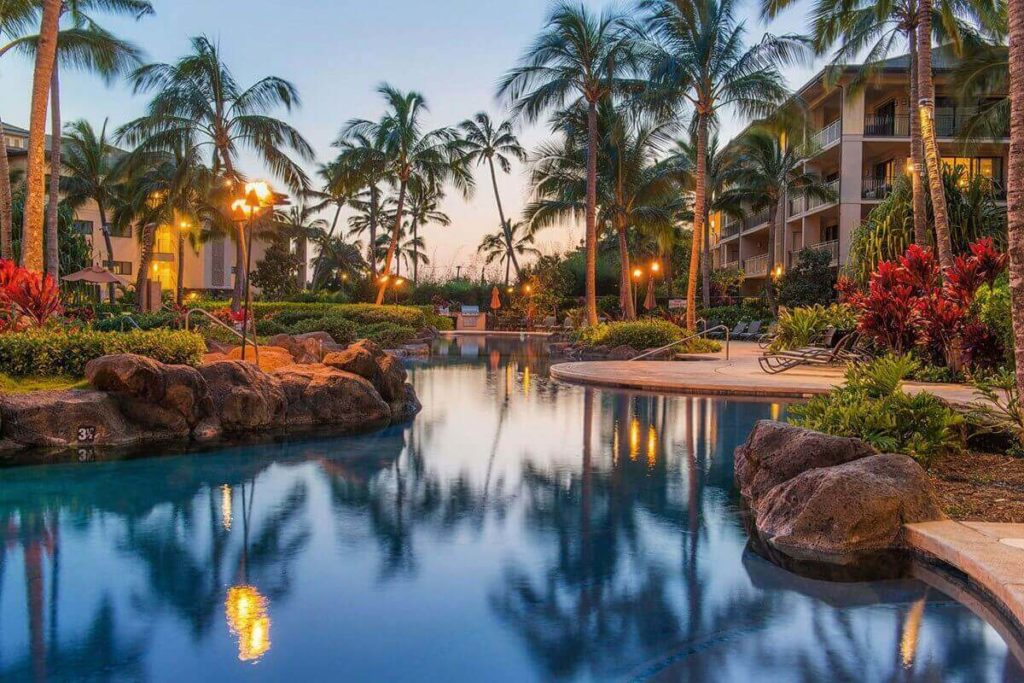 Koloa Landing Resort Kauai with kids Lagoon Pool