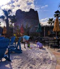 Poolside Beach playtime Universal Orlando Resort Sapphire Falls Hotel 1