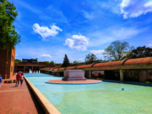 Reflecting Pool and Crypt at Martin Luther King Jr National Historic Site Atlanta 1b