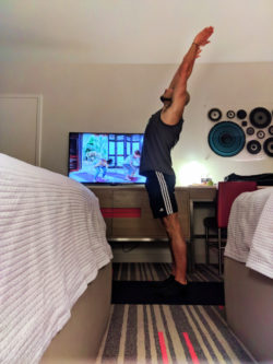 Rob Taylor Rock Om Yoga in Guestroom at Hard Rock Hotel Universal Orlando Resort 1