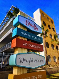 Signage at Universal Cabana Bay Resort Orlando 1