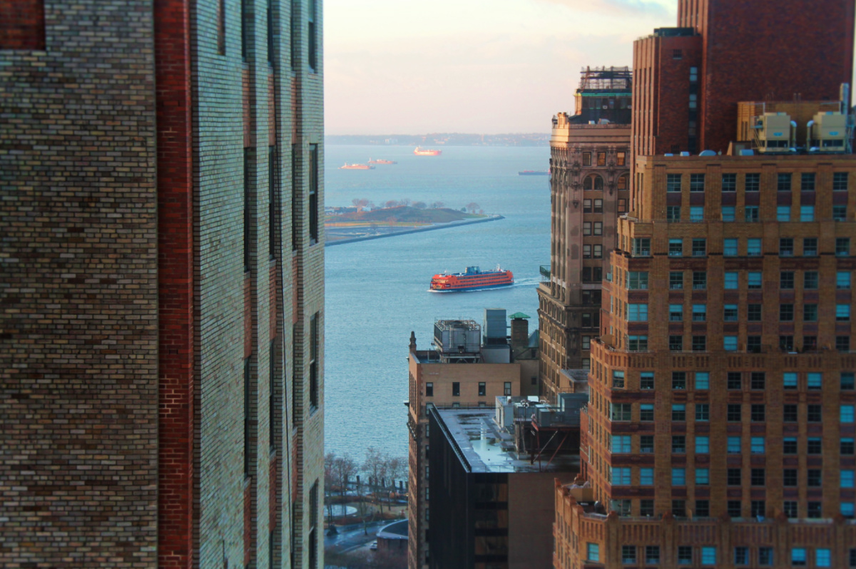 Staton Island Ferry from Holiday Inn Manhattan Financial District NYC 1