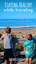 Staying healthy while traveling is so important, especially when you have kids with you. Sharing helpful tips to prevent sickness during cold and flu season. 2traveldads.com