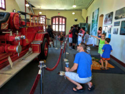 Taylor Family at Old Firehouse at Martin Luther King Jr National Historic Site Atlanta 1