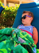 Taylor Family at pool Hyatt Recency Newport Beach 2