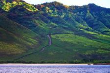 West Coast of Oahu from Snorkeling catamaran 2