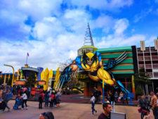 Wolverine Superhero Island at Universals Islands of Adventure Universal Orlando 1