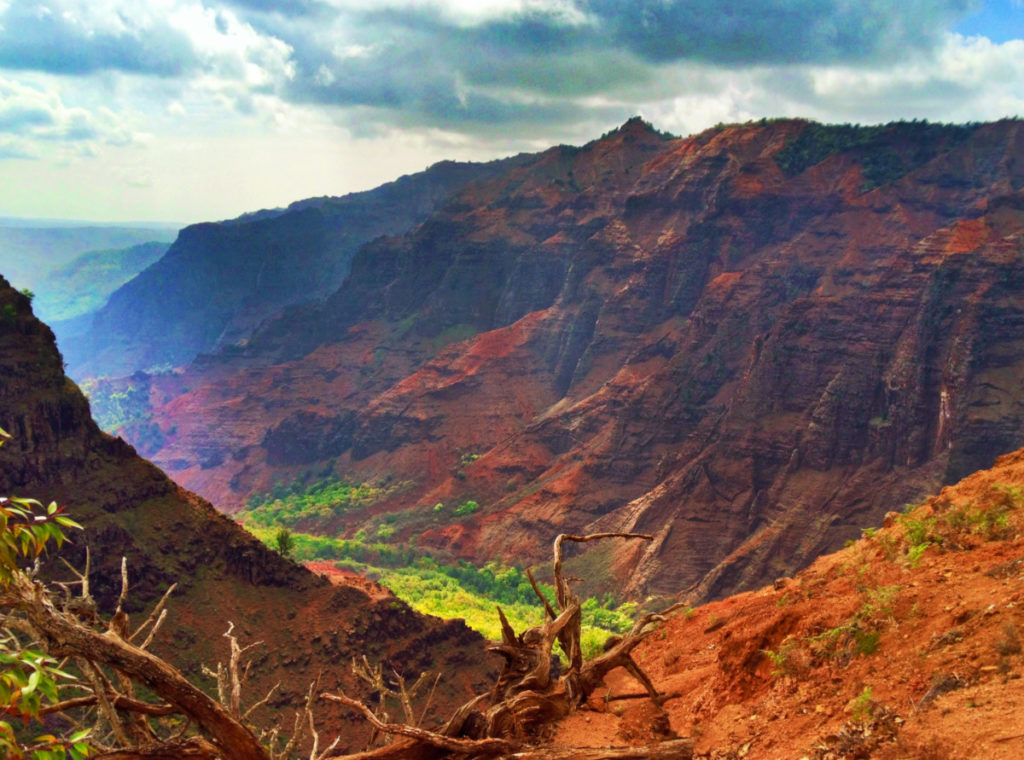 Waimea Canyon view Kauai Hawaii 1