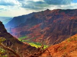 2DadsWithBaggage Waimea Canyon view Kauai Hawaii 1