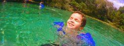 Alamo Scenic Route swimming header