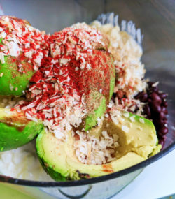 Avocado bean dip healthy cooking at home Self-care 1